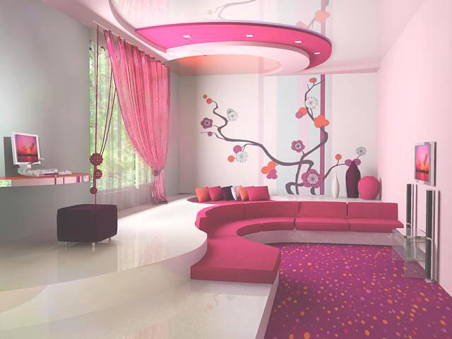 Интересный интерьер комнат фото
