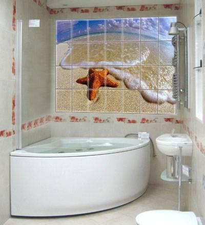 Декор ванных комнат фото своими руками