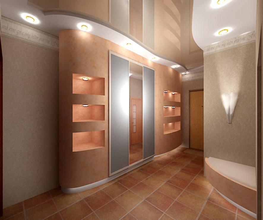 Линолеум в коридор фото